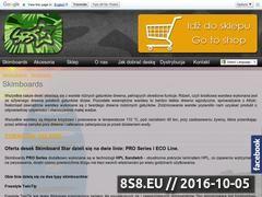 Miniaturka domeny www.skimboardstar.pl