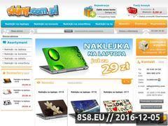 Miniaturka Skiny, naklejki i covery na laptopy, notebooki (www.skiny.com.pl)