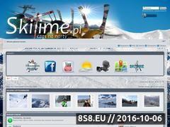 Miniaturka domeny www.skitime.pl