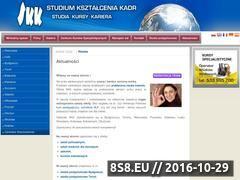 Miniaturka domeny www.skk.pl