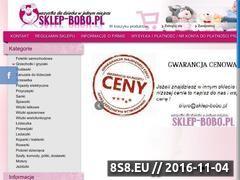 Miniaturka domeny www.sklep-bobo.pl
