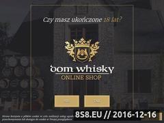 Miniaturka domeny www.sklep-domwhisky.pl