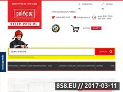 Miniaturka domeny sklep-ppoz.pl