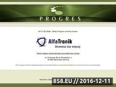 Miniaturka domeny www.sklep-progres.pl