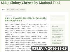 Miniaturka domeny sklep-slubny.com