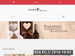 Miniaturka domeny sklep-slubny.venarti.pl