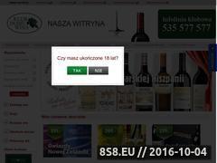 Miniaturka domeny www.sklep-wina.pl