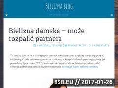 Miniaturka domeny sklep-z-bielizna.com