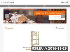 Miniaturka domeny www.sklep.andrewex.com.pl