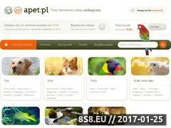 Miniaturka domeny sklep.apet.pl