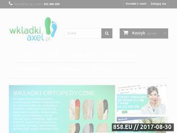 Zrzut strony Wkładki ortopedyczne