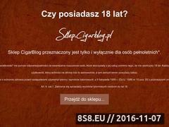 Miniaturka domeny sklep.cigarblog.pl