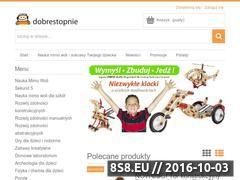 Miniaturka domeny sklep.dobrestopnie.pl