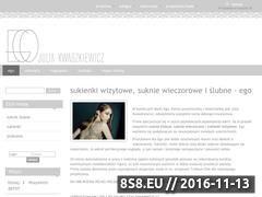 Miniaturka domeny sklep.ego-moda.pl