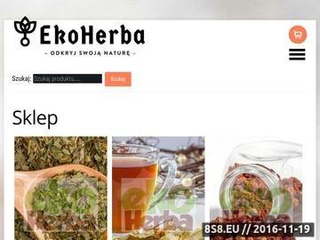 Zrzut strony Ekoherba - przyprawy ekologiczne