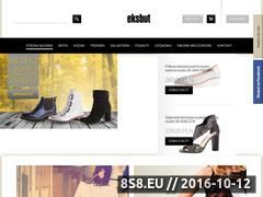Miniaturka domeny sklep.eksbut.com.pl