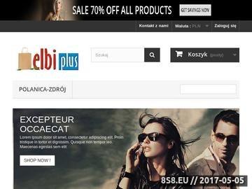 Zrzut strony ELBI PLUS serwis drukarek