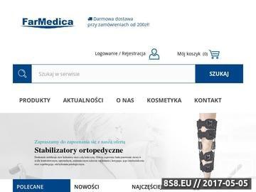 Zrzut strony Sklep medyczny