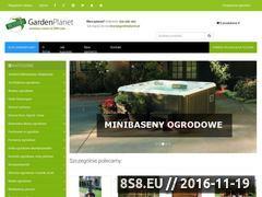 Miniaturka domeny www.sklep.gardenplanet.pl