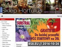 Miniaturka domeny www.sklep.hortulus.com.pl