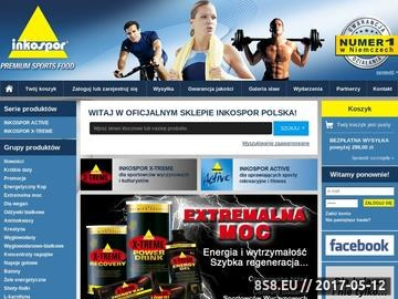 Zrzut strony Inkospor - wzmocnienie mięśni