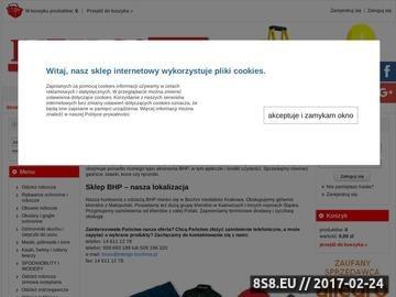 Zrzut strony Odzież ochronna Kraków