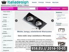 Miniaturka domeny sklep.italiadesign.pl