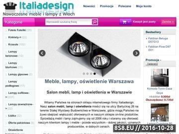 Zrzut strony Oświetlenie Warszawa