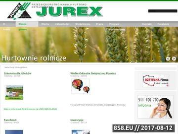 Zrzut strony Jurex-Centrum Budowlane -Najtańsze materiały