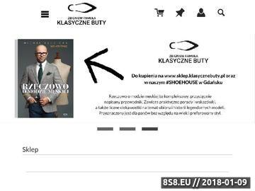Zrzut strony Prawidła do butów w sklep.klasycznebuty.pl