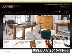 Miniaturka domeny sklep.ludwikstyl.com.pl