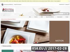 Miniaturka domeny sklep.maxwellandwilliams.pl