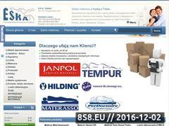 Miniaturka domeny sklep.meble-eska.pl