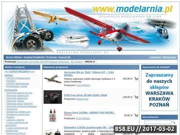 Zrzut strony Modelarnia RC - sklep modelarski - zdalnie sterowane