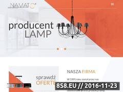 Miniaturka Lampy nowoczesne (www.sklep.namat.pl)