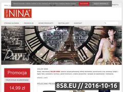 Miniaturka domeny www.sklep.nina.com.pl