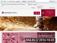 Miniaturka domeny sklep.obrobkastali.com