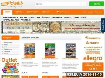 Zrzut strony Mapy, przewodniki, atlasy, książki, globusy oraz mapy ścienne