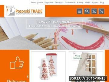 Zrzut strony Pozorski Trade