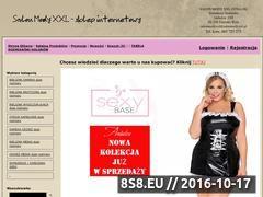 Miniaturka domeny sklep.salonmodyxxl.pl