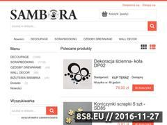 Miniaturka domeny www.sklep.sambora.pl