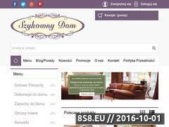 Miniaturka domeny sklep.szykownydom.pl