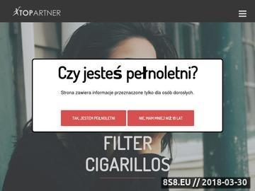 Zrzut strony Sklep - import - bibułki Smoking, cygaretki dannemann, retro