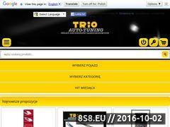 Miniaturka domeny sklep.trio.com.pl