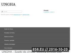 Miniaturka domeny sklep.ungha.pl