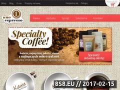 Miniaturka domeny sklep.unoespresso.pl