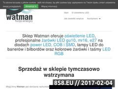 Miniaturka domeny sklep.watman.pl