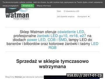 Zrzut strony Oświetlenie żarówki LED