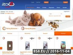 Miniaturka domeny www.sklep.zoovet.pl