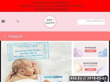 Zrzut strony Sklep Ciążowy - odzież do karmienia